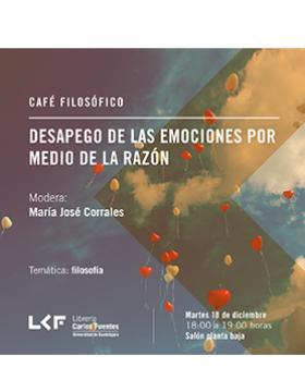 Cartel del evento de la Librería Carlos Fuentes