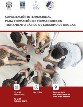Capacitación Internacional para Formación de Formadores en Tratamiento Básico de Consumo de Drogas.