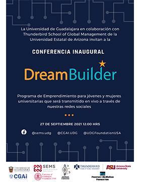 Conferencia inaugural: Dream Builder