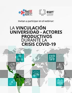 Webinar: La vinculación universidad–actores productivos durante la crisis de la COVID-19