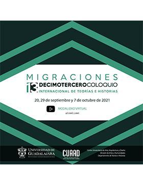 """13° Coloquio de Teorías e Historias """"Migraciones"""""""