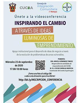 Videoconferencia: Inspirando el cambio a través de ideas luminosas de emprendimiento