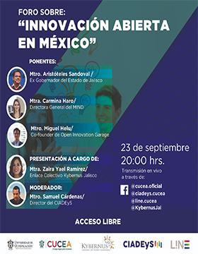 """Foro sobre: """"Innovación abierta en México"""""""