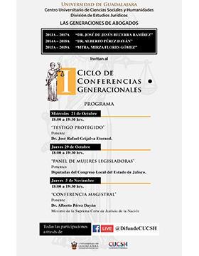I Ciclo de Conferencias Generacionales