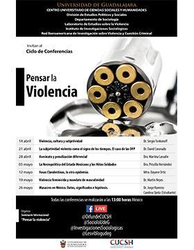 Ciclo de conferencias: Pensar la violencia