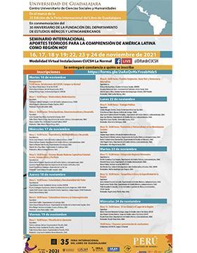 "Seminario Internacional ""Aportes teóricos para la comprensión de América Latina como región hoy"""
