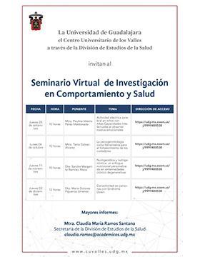 Seminario Virtual de Investigación en Comportamiento y Salud