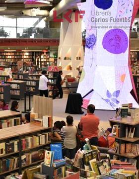 Programación del mes de septiembre de la Librería Carlos Fuentes
