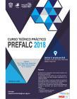 Cartel informativo sobre el Curso teórico práctico PREFALC 2018, Del 9 al 11 de julio, en el  Edificio P, Aula P-03, CUCIénega