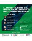 Webinar: La gestión del riesgo en la micro y pequeña empresa, su impacto financiero y fiscal