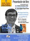 Cartel para promocionar la Presentación del libro Psiquiatría, naturaleza y cultura