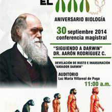 Cartel de la conferencia del 30 de septiembre