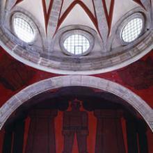 Detalle del Mural de la Biblioteca Iberoamericana