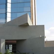 Vista desde fuera del piso 2 del edicifio central de la UdG