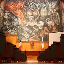 Interior del Paraninfo Enrique Díaz de León