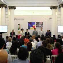 """Tercer Foro de Museos, """"Experiencias para la transformación"""", en el Museo de las Artes (MUSA) de la Universidad de Guadalajara (UdeG)."""