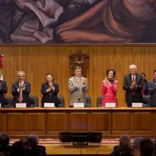 Ceremonia de 50 años de La Generación 1962-1967 de Ingenieros Civiles de la UdeG