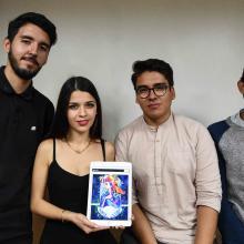 Alumnos del Centro Universitario de Arte, Arquitectura y Diseño (CUAAD), de la Universidad de Guadalajara (UdeG), obtuvieron el primer lugar en la categoría de Dibujo, dentro del Desafío iPad