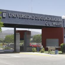 Entrada principal del Centro Universitario de los Valles (CUValles)