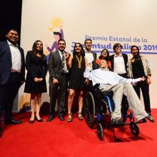 Jóvenes ganadores del Premio Estatal de la Juventud Jalisco 2019