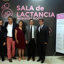 Inauguración por autoridades universitarias de la primera Sala de Lactancia del Sistema de Educación Media Superior (SEMS) de la Universidad de Guadalajara (UdeG).