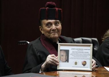 Dr. José Guerrerosantos (1932-2017), especialista en Cirugía Plástica y Reconstructiva y profesor investigador de la Universidad de Guadalajara.
