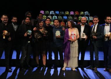 Los ganadores de la Tercera Edición de los Premios del Público a lo Mejor del Teatro realizada en el Conjunto Santander de Artes Escénicas