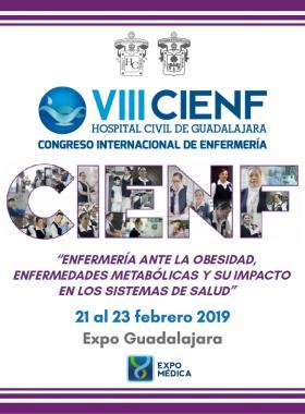 Cartel informativo sobre el VIII Congreso Internacional de Enfermería