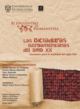 Cartel de la Encuentro Humanista con retratos de personas comunes