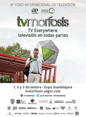 Cartel oficial del Congreso TVMorfosis