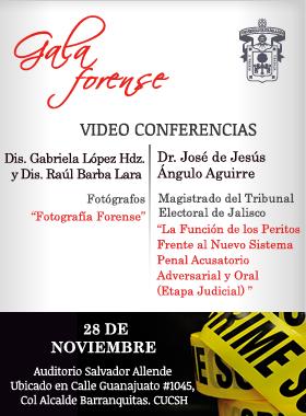 Gala Forense - Tercer ciclo de Conferencias