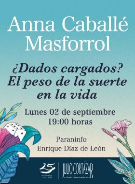 Anna Caballé en la Cátedra Latinoamericana Julio Cortázar