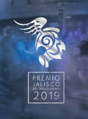Identidad gráfica del evento: Premio Jalisco de Periodismo 2019