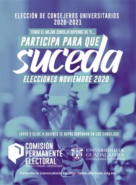 Elección de Consejeros Universitarios 2020-2021