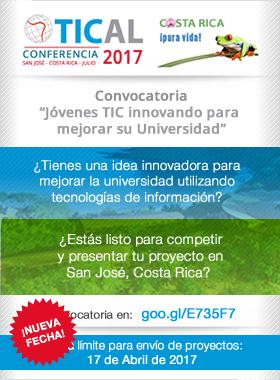"""convocatoria """"Jóvenes TIC innovando para  mejorar su Universidad"""""""