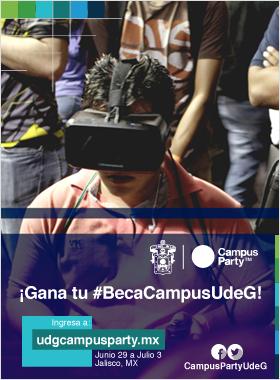 ¡Gana tu #BecaCampusUdeG!