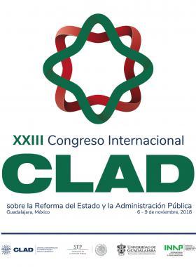 Cartel informativo sobre el XXIII Congreso Internacional del CLAD sobre la Reforma del Estado y de la Administración Pública