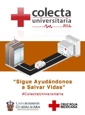 Dibujo de una ambulancia recorriendo el trayecto de la Torre de rectoría general con un hospital