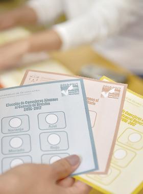 Boletas para participar en la conformación de los órganos colegiados de la UdeG