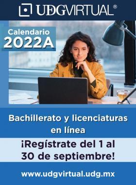 Calendario 2022A de licenciatura y bachillerato