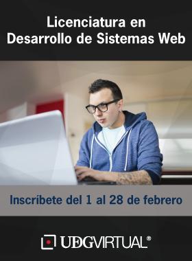 Licenciatura en Desarrollo de Sistemas Web