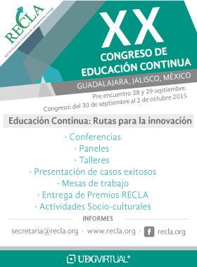 Sitio de la Red de Educación Continua de Latinoamérica y Europa