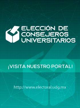 Identidad gráfica de la Elección de Consejeros Universitarios de la Universidad de Guadalajara