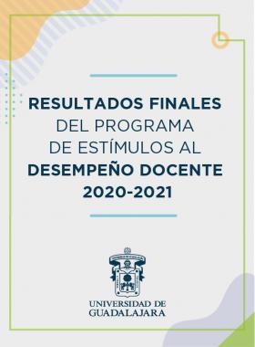 Resultados del dictamen PROESDE 2020-2021