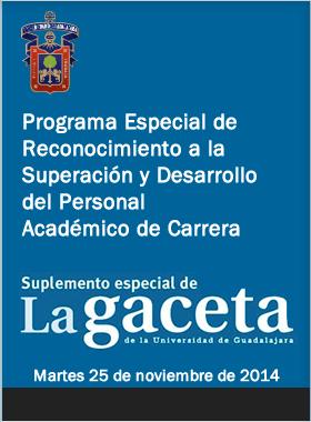 Convocatoria a la Promocion especial para Academicos de la UDG