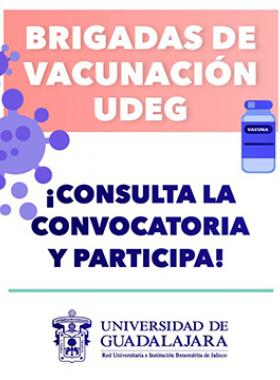 Brigadas de vacunación UdeG
