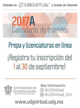 Calendario de Trámites 2017-A