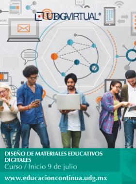 """Composición fotográfica del curso """"Diseño de materiales educativos digitales"""". A realizarse a partir del 9 de julio. Invita UDGVIRTUAL"""