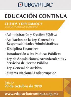 Cursos de la temática de Gestión y Gobierno