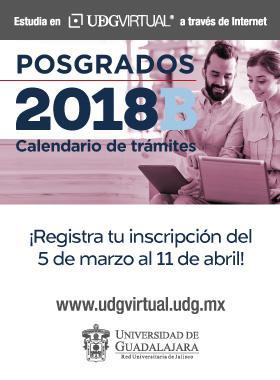 Calendario de posgrados de UDGVirtual